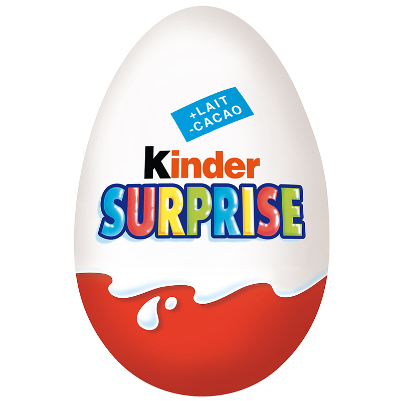 Slavoj Žižek explains the Kinder Surprise Egg.